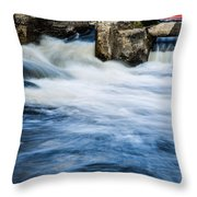 Flood Waters Throw Pillow