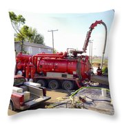Flooding Throw Pillow