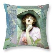 Flora Throw Pillow