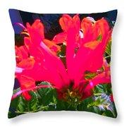 Floral 6 Throw Pillow