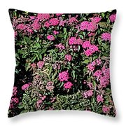 Floral Afternoon Throw Pillow