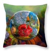 Floral Ambrosia Throw Pillow