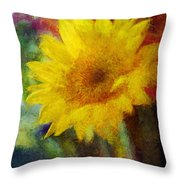 Floral Art Xxxvi Throw Pillow