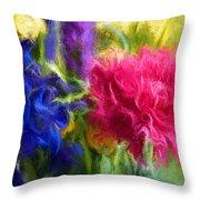 Floral Art Xxxxvi Throw Pillow