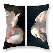 Floral Duo Throw Pillow