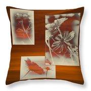 Floral Early Garden Light 01 Throw Pillow