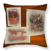 Floral Early Garden Light 03 Throw Pillow