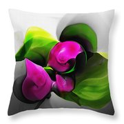 Floral Expression 111213 Throw Pillow
