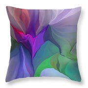 Floral Expressions 022615 Throw Pillow