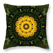 Floral Fantasy - 34 Throw Pillow