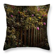 Floral Heaven Throw Pillow