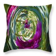 Floral Illusion 1 Throw Pillow