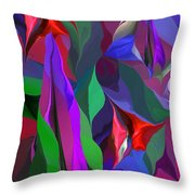 Floral Jambalaya  Throw Pillow