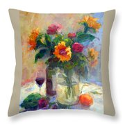 Floral Paintings Fp18 Throw Pillow