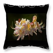 Floral Photomontage 1 Throw Pillow