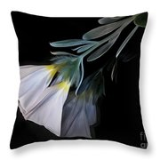 Floral Reflections 3 Throw Pillow