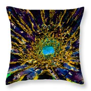 Floral Revolution 3 Throw Pillow