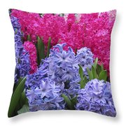 Floral Shades 4 Throw Pillow