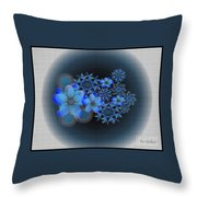 Floral Wonder 12 Throw Pillow
