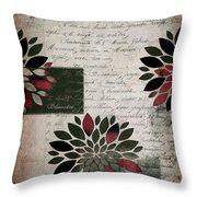 Floralis - 889a Throw Pillow