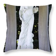 Florence Brokaw Satterwhite Memorial II Cave Hill Cemetery Louisvil Throw Pillow