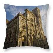 Florence Cathedral  Throw Pillow