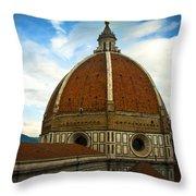 Florence Duomo Italy Throw Pillow