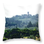 Florence Landscape Throw Pillow
