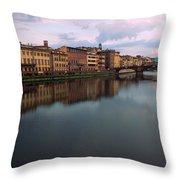 Florence Memories Throw Pillow