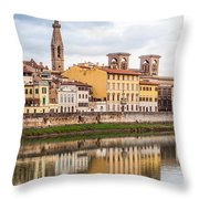 Florence Reflection Throw Pillow