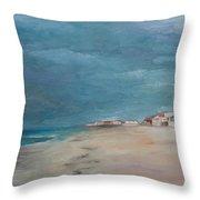 Florida Beach Throw Pillow