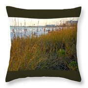Fabulous Siesta Key  Throw Pillow