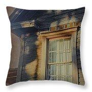 Florida Cracker House Throw Pillow