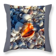 Florida Fighting Conch 1 Throw Pillow