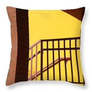 Shadowrails At Golden Hour Throw Pillow
