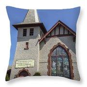 Florida Reform Church Throw Pillow