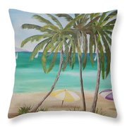 Florida Shade Throw Pillow