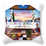 Florida Throw Pillow