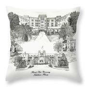 Florida State University Throw Pillow