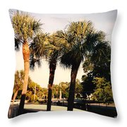 Florida Trees 2 Throw Pillow