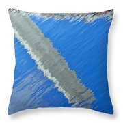 Floridian Abstract Throw Pillow