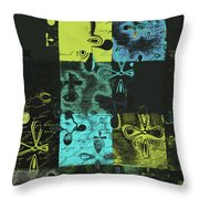 Florus Pokus A02 Throw Pillow by Variance Collections
