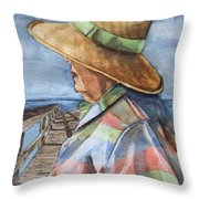 Flossie Throw Pillow