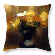 Flourish  Throw Pillow by Aaron Berg