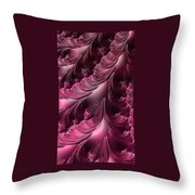 Flourishes - Phone Cases And Cards Throw Pillow