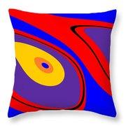Flow 1 Throw Pillow