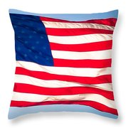 Flow Of Freedom Throw Pillow