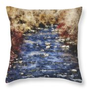 Flow V15 Throw Pillow