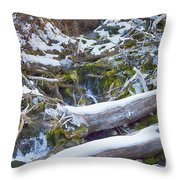 Flow V9 Throw Pillow