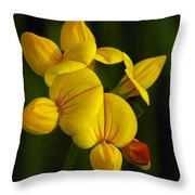 Flower 105 Throw Pillow